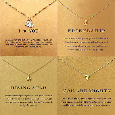 Womens Fashion Love Heart Elephant Pendant Choker Charm Jewelry Necklace Sanwood