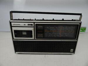 Grundig-C-8000-Automatic-Radio-Recorder-Weltempfaenger-Ghettoblaster-Retro-Vintag