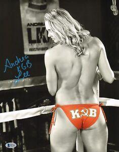 Andrea KGB Lee Signed 11x14 Photo BAS Beckett COA UFC LFA Invicta FC Autograph 3   eBay