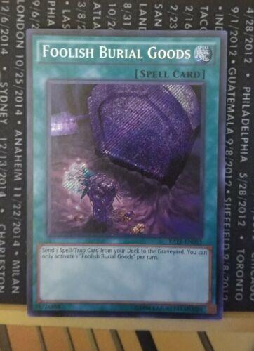 Foolish Burial Goods-RATE-EN065 Unlimited Edition NM