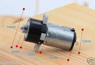 DC 3V-6V Mini Coreless Motor Micro Planetary Gear Reducer Motor DIY Robot