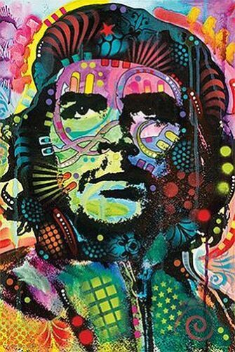 DEAN RUSSO ART POSTER 24x36-11140 CHE GUEVARA