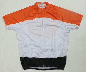 Quick-Dry-Racing-Mens-Cycling-Polyester-Short-Sleeve-Jersey-Top-Size-S-XXXL