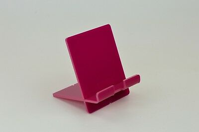 Tablet/ipad Holder/supporto/e-reader/smartphone Stand-rosa Scuro Acrilico-