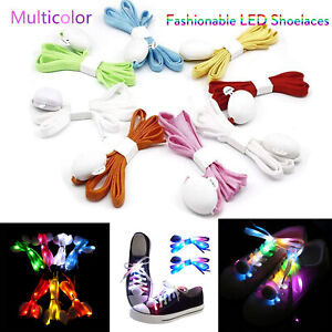 Shoes Shoe Accessories Humorous 120cm Fashion Sport Luminous Shoelace Toys Shoe Accessories Glow In The Dark Shoelace Night Running Gift At Any Cost
