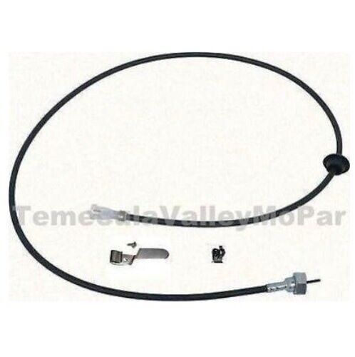 OE-Style Speedometer Cable /& Bracket Set for 1968-1970 MoPar B-Body
