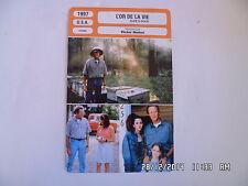 CARTE FICHE CINEMA 1997 L'OR DE LA VIE Peter Fonda Patricia Richardson C.Dunford