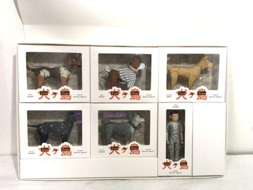 Isle of Dogs Exclusive Figure 6 pcs Complete Set Atari//REX//DUKE//BOSS//KING//CHIEF