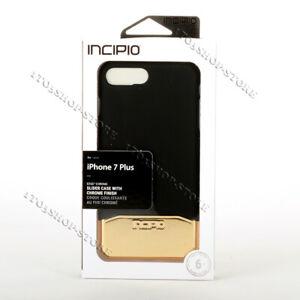 Details About Incipio Edge Chrome Slider Hard Case For Iphone 7 Plus Iphone 8 Plus Blackgold