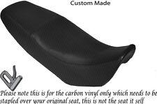 CARBON VINYL CUSTOM FITS SKYJET 125 TMEC DUAL REAL SEAT COVER