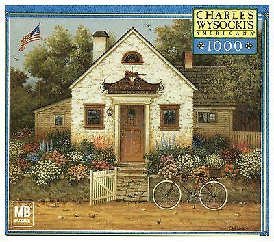 Charles Wysocki Americana 1000 Piece Puzzle: Future Baseball Player or Violinist
