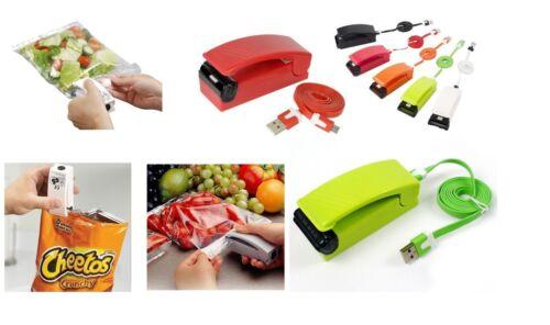 Kitch/'n/'cook magnetico Sigifix sigilla scacchetti ricaricabile USB