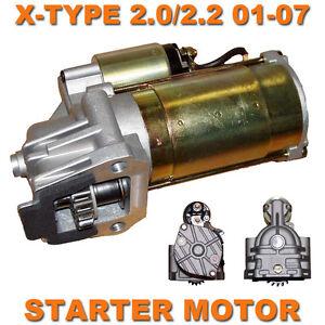 jaguar x type 01 07 2 0 2 2 turbo diesel quality starter motor ebay. Black Bedroom Furniture Sets. Home Design Ideas