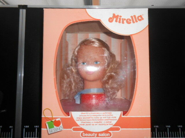 Mirella Beauty Salon SEBINO Doll Polistil Salone bellezza Vintage