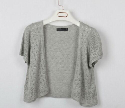 Ladies Knitted Crochet Shrug Short Sleeve Bolero Women  Cardigan Tops Cover-Up