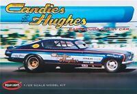 POLAR LIGHTS Barracuda Candie & Hughes NHRA 1 25 scale car model kit 0853 Toys