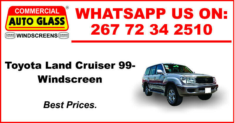 Windscreen For Toyota Land Cruiser 99 For Sale.