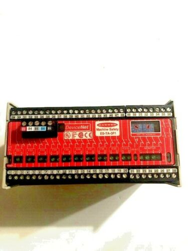 Banner Engineering ES-TA-3F1 Emergency Stop Module w//DeviceNet
