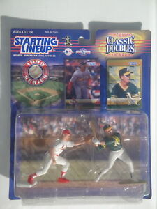 STARTING LINEUP MARK McGWIRE MODESTO As CARDINALS CLASSIC DOUBLES BASEBALL 99