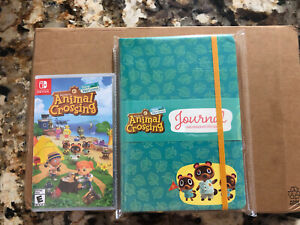 Animal-Crossing-New-Horizons-Nintendo-Switch-Game-and-Journal-New-and-Sealed