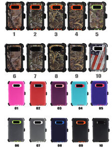 the latest 1e274 fec86 Details about Samsung Galaxy S8 Plus Note 8 Case Cover Clip fits Otterbox  Defender 3 Layer