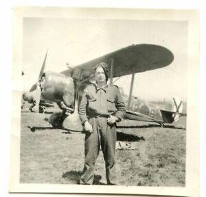 Orig-Foto-Legion-Condor-Flieger-Flugzeug-Kennung-6-x-6-cm