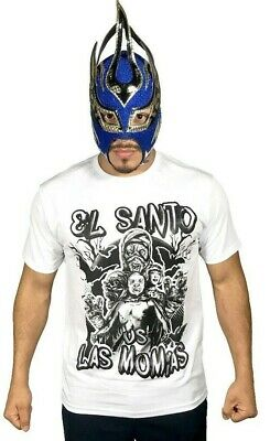 Talivision A167 Atlantis CMLL Lucha Libre Adult T-shirt Black