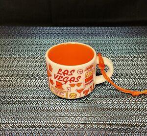 STARBUCKS 2oz Demi Tasse LAS VEGAS Nevada BEEN THERE Mug Ornament Mini Cup