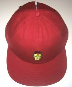 Details about Vans x Marvel Iron Man Strap back Unisex Burgundy Red Hat Cap  Ships Free NWT d7a9a095948