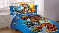 Skylanders Spyro Adventure Sky Friends 3pc Twin Bed Sheets, New, Free Shipping on sale