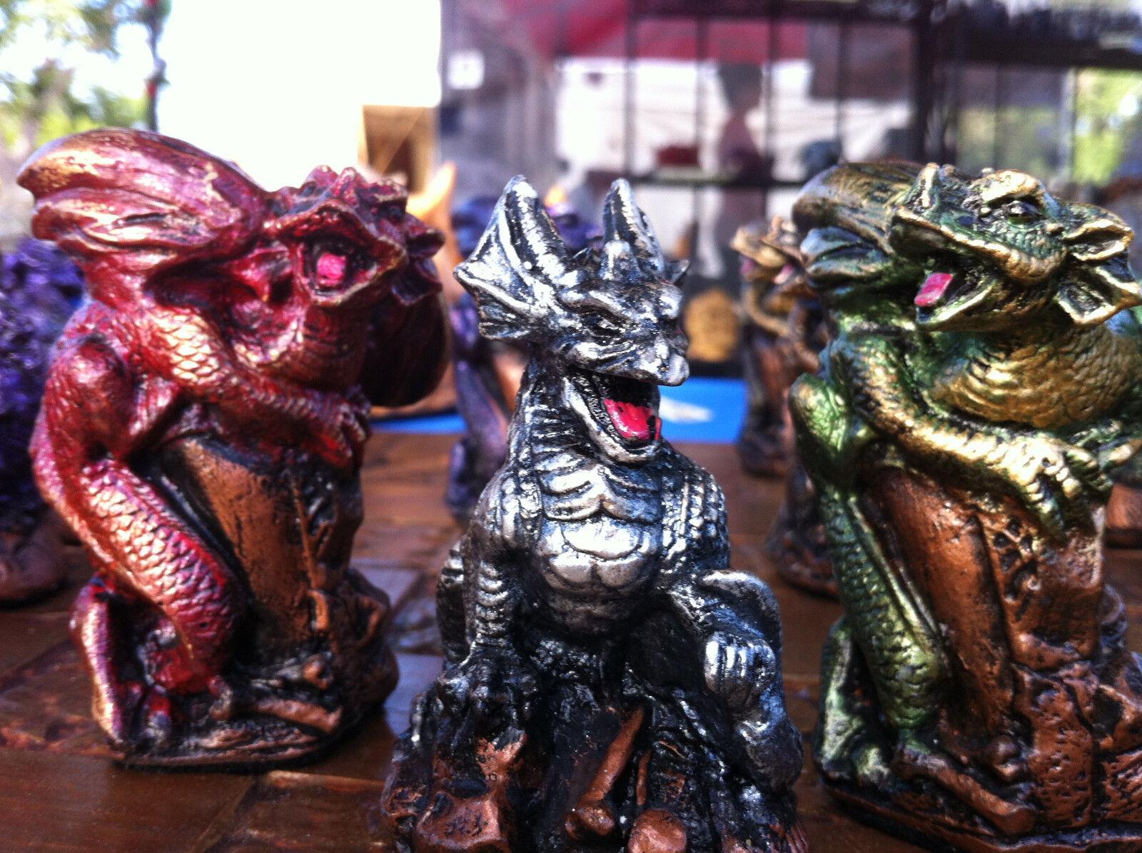 Wee Surly Dragons chess set. personnalisable couleurs (pièces seulement aucun board)