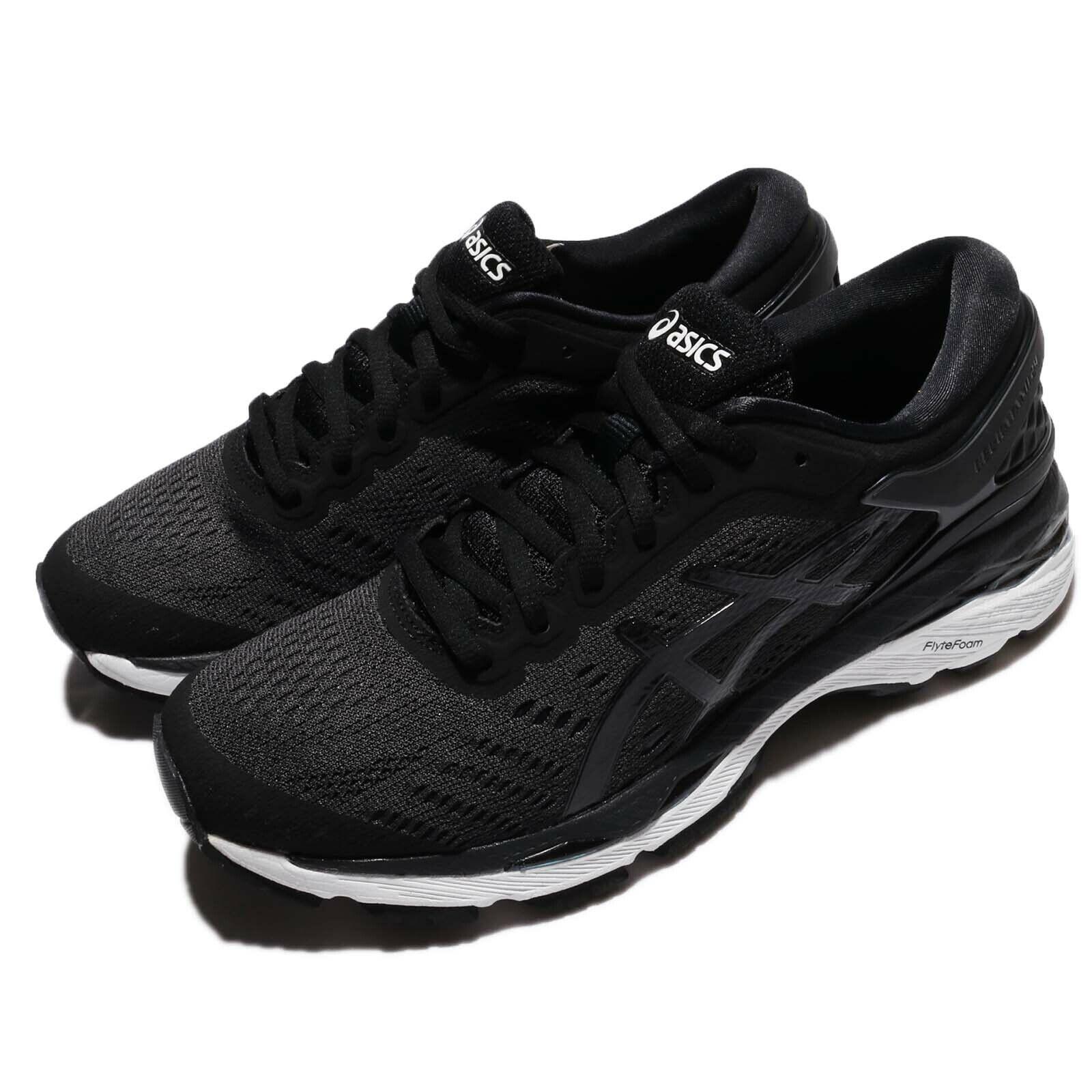 Asics Gel-Kayano 24 nero bianca donna Running Training scarpe scarpe da ginnastica T799N-9016