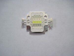 5x   40mil  10 Watts  COB Actinic Royal Blue Hybrid LED Panel  D.I.Y. Bright