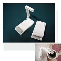 magnetic paper towel holder rack for kitchen workshop refrigerator garage bus ebay. Black Bedroom Furniture Sets. Home Design Ideas