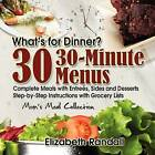 Mom's Meal Collection: 30 30-Minute Menus by Elizabeth Randall (Paperback / softback, 2009)