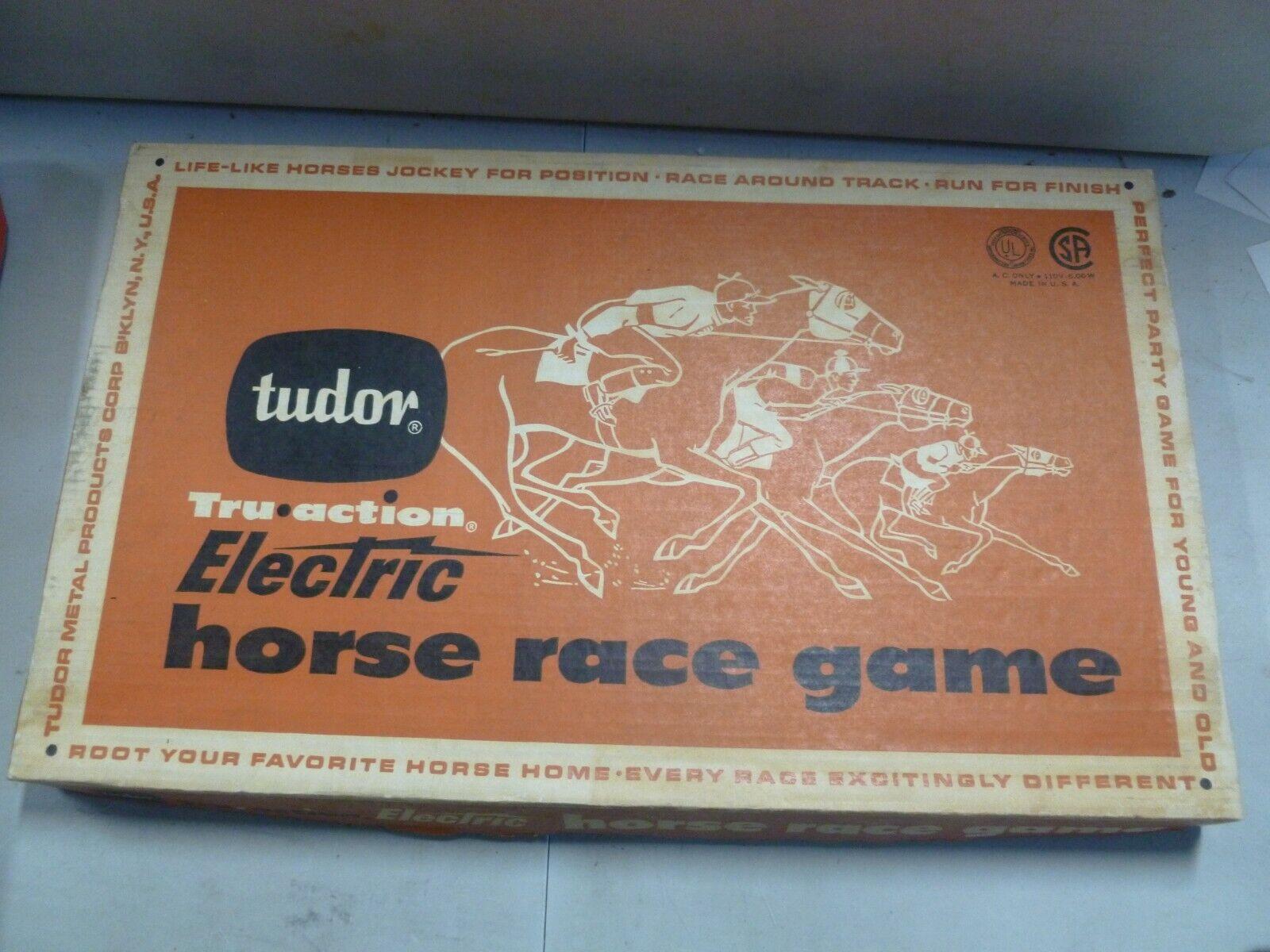 Tudor Electric Horse Race Game