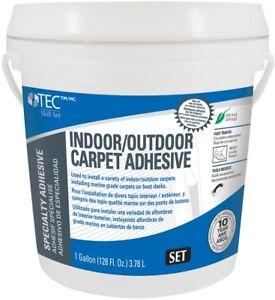 Tec Skill Set Carpet Flooring Adhesive 1 Gallon