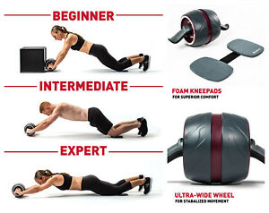 Fitness Equipment & Gear Sporting Goods Imported From Abroad Fitness Ab Pro Perfect Carver Workout Abdominal Exercise Roller Exerciser Gym