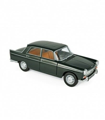 Peugeot 404 1965 Antique Green 1 18 Norev
