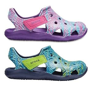 Water Shoes for Boys and Girls Crocs Kids Swiftwater Wave Sandal