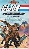 G.i. Joe Find Your Fate 3 Operation: Terror Trap By G. V. Macrae (1985, Pb)