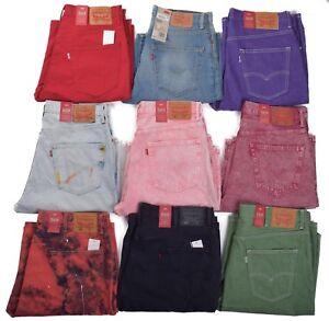 Levis-569-Men-039-s-Loose-Straight-Denim-Shorts-Choose-Color-amp-Size