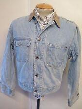 "VINTAGE Ralph Lauren Denim Jacket Size M 36"" UK 10-12 Euro 38-40 Blue"