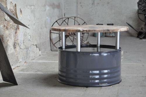 Fasstisch Fass Tisch Couchtisch aus 200 Liter Neu Fass Fassmöbel Farbe nach Wahl