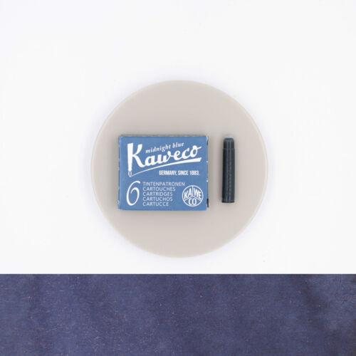 Kaweco Midnight Blue 6 Cartucce