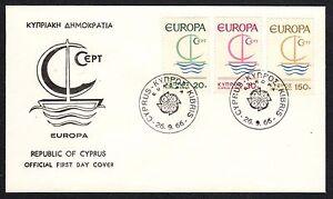 CIPRO-1966-FDC-Europa-CEPT
