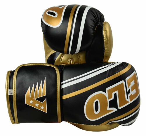 VELO Boxing Gloves Fight Punch Bag Muay thai MMA Training Kickboxing Sparring