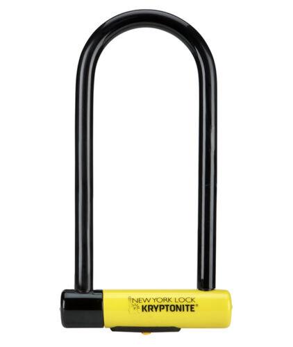 KRYPTONITE NEW YORK U LOCK LS BIKE SECURITY BICYCLE SCOOTER D PADLOCK CHEAP GOLD