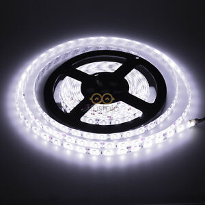 16ft-5630-SMD-300LED-Waterproof-Cool-White-Flexible-LED-Strip-Light-Super-Bright