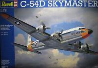 1/72 Douglas C-54d Skymaster Model Kit By Revell Models